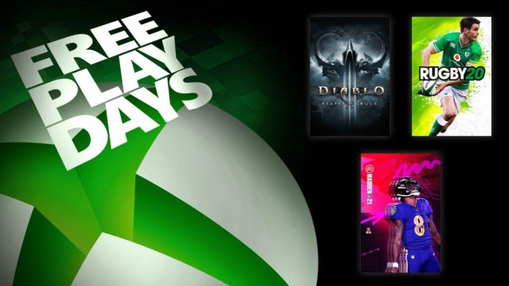 Trois jeux, dont Diablo III sont disponibles pour ce week-end sur Xbox One
