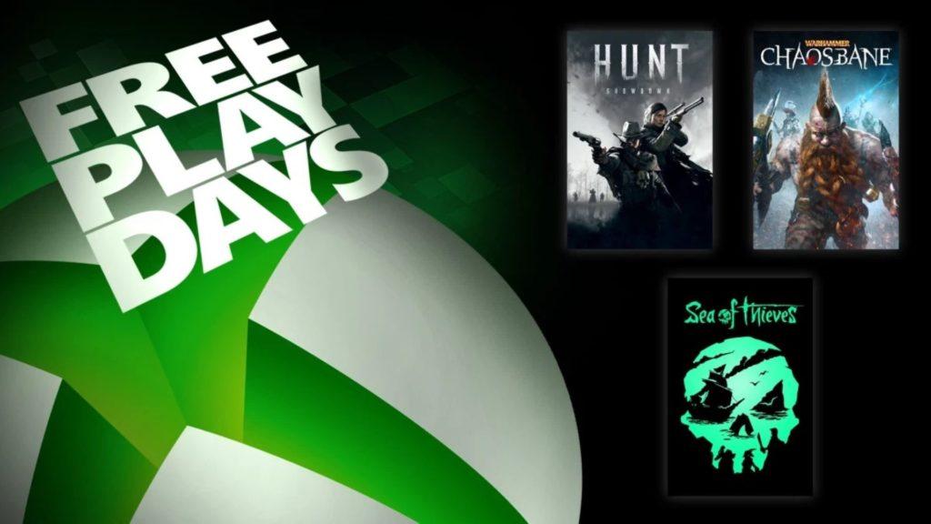 Free Play Days : Sea of Thieves et deux autres jeux en essai gratuit du 17 au 20 septembre