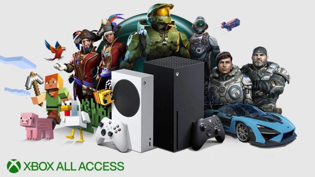 Les prix du All Access pour les Xbox Series X|S officialisés en France