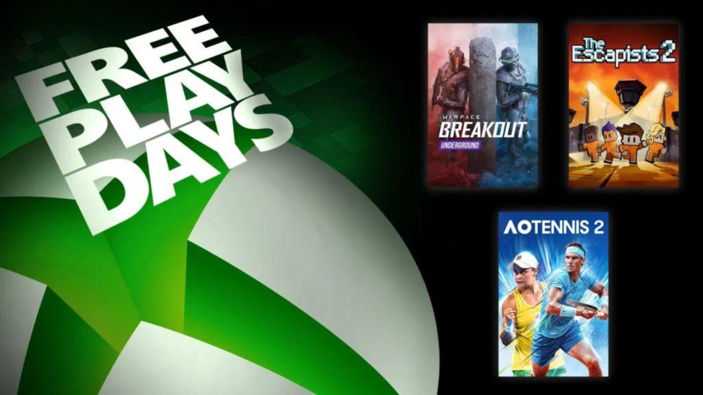 Les Free Play Days viennent d'être annoncés, trois nouveaux jeux en perspective