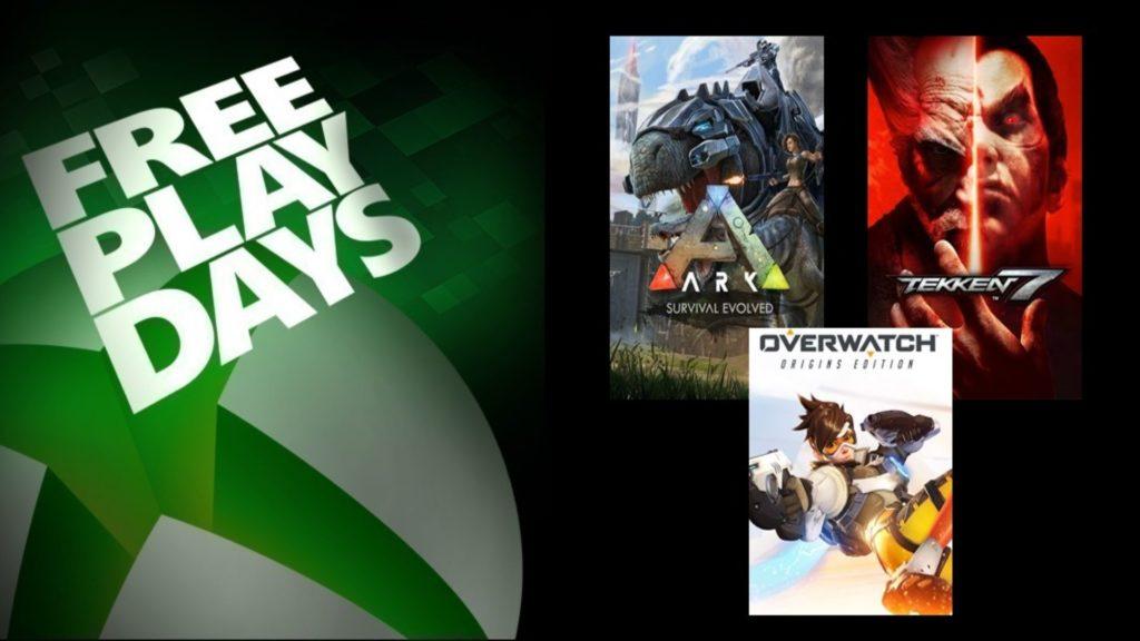 Les Free Play Days accueillent trois jeux ce week-end