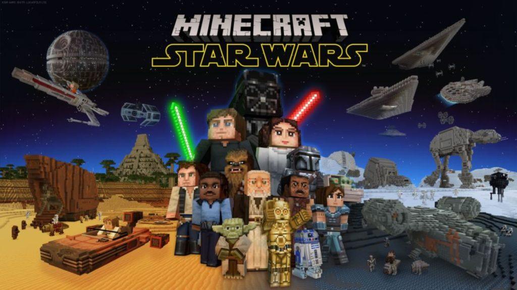 Star Wars atterrit dans le monde de Minecraft