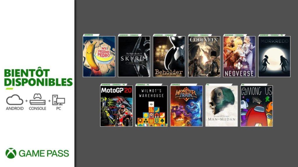 Xbox Game Pass : les entrées et les sorties de la fin du mois de décembre
