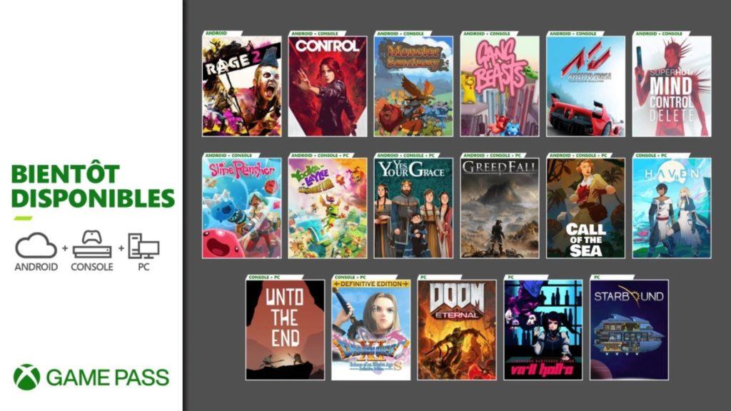 Une grosse liste de nouveautés viendra enrichir le Xbox Game Pass en décembre