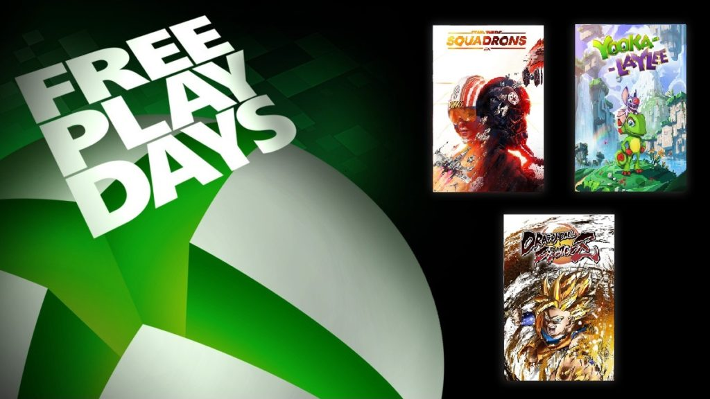 Star Wars Squadrons et deux autres jeux jouables grâce aux Free Play Days