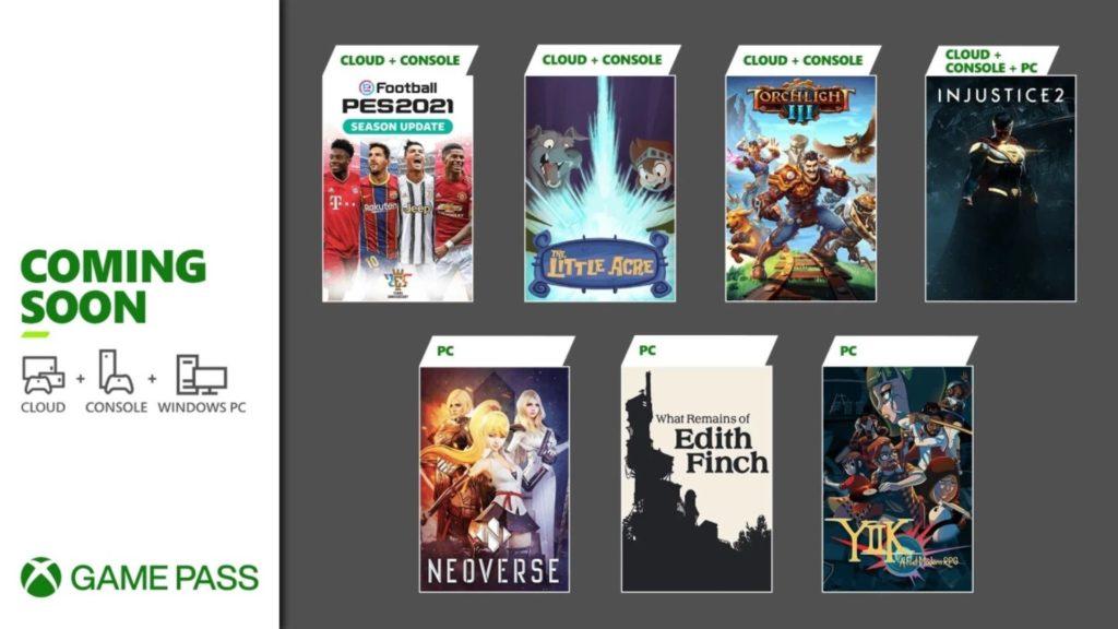 Xbox Game Pass : sept jeux arrivent en janvier