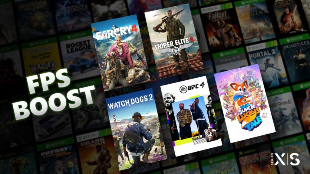 97 jeux sont désormais compatibles FPS boost sur Xbox Series