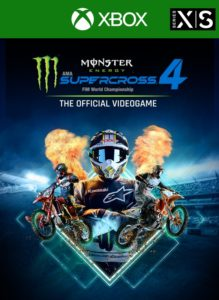 Monster Energy Supercross 4 – Xbox Series X|S