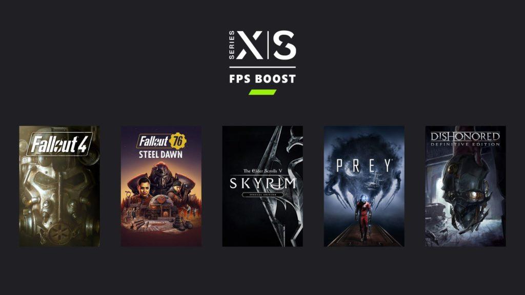 FPS Boost pour cinq jeux Bethesda