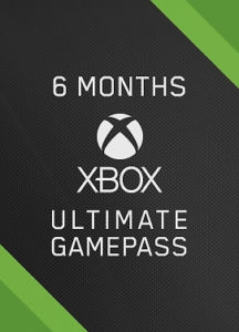 Xbox Game Pass Ultimate<br>6 Mois