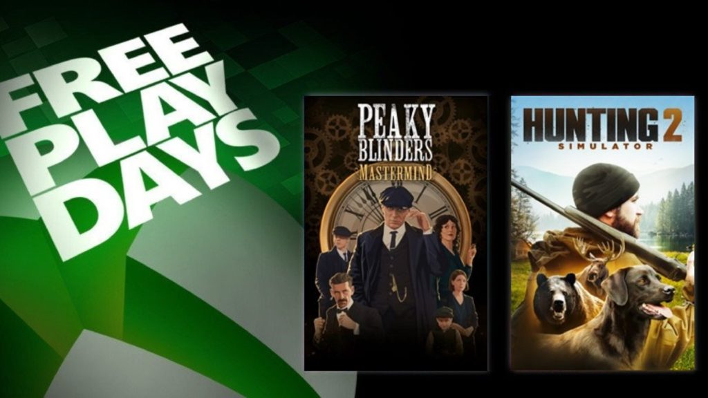 Les Free Play Days accueillent Peaky Blinders et Hunting Simulator 2