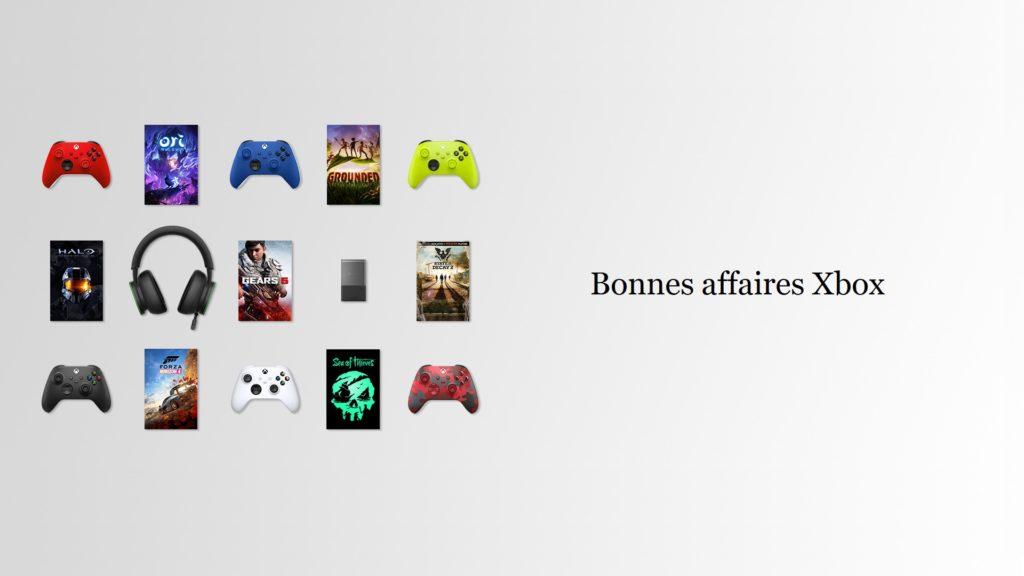 Bonnes affaires Xbox