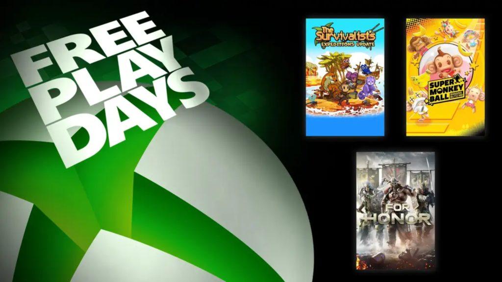 Les Free Play Days nous feront découvrir For Honor, The Survivalists et Super Monkey Ball