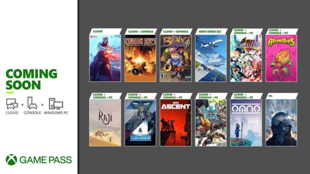 Plusieurs jeux à destination du Xbox Game Pass pour finir le mois de juillet