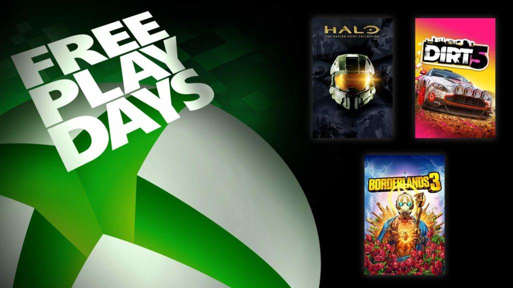 Les Free Play Days accueillent Halo: The Master Chief Collection et deux autres jeux