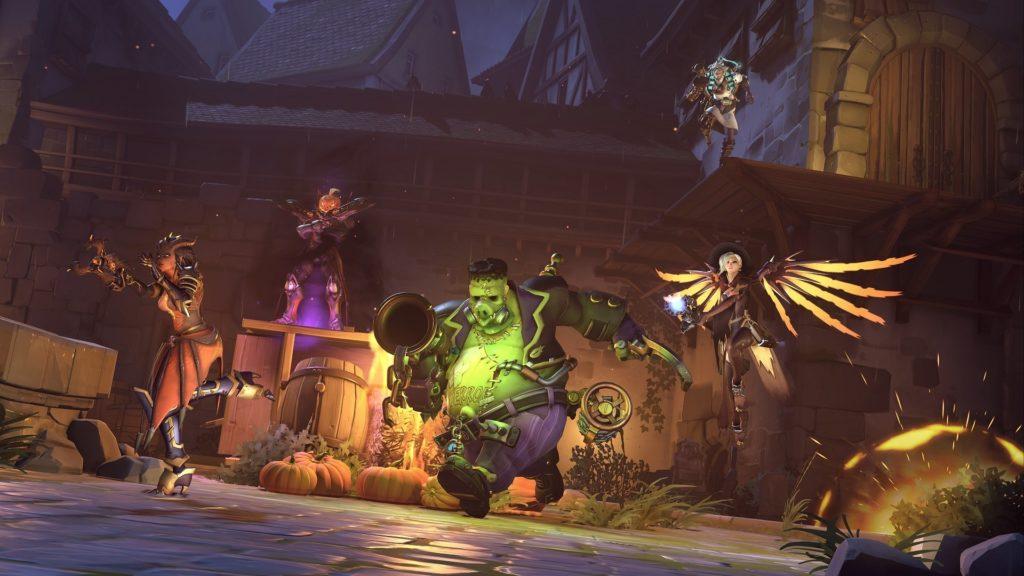 L'événement d'halloween est de retour sur Overwatch